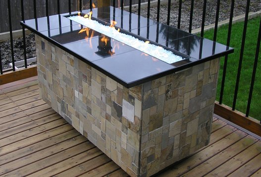 custom fireplace product
